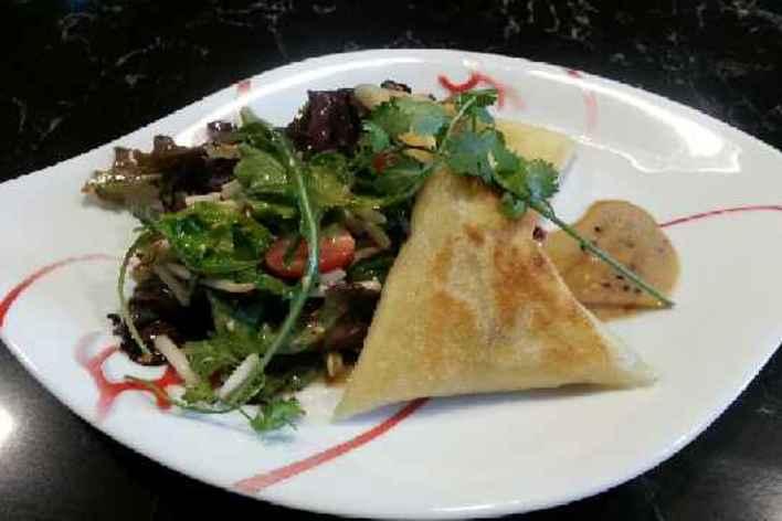 Déjeuner  sympathique  dans un cadre convivial