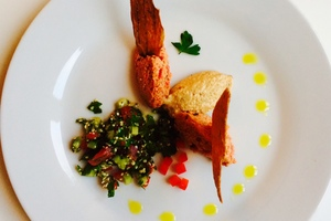 Cenas particulares como en su propia casa: Brunch fusion (japonais et cuisine naturelle)