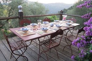 Cenas particulares como en su propia casa: Saveurs du pays niçois