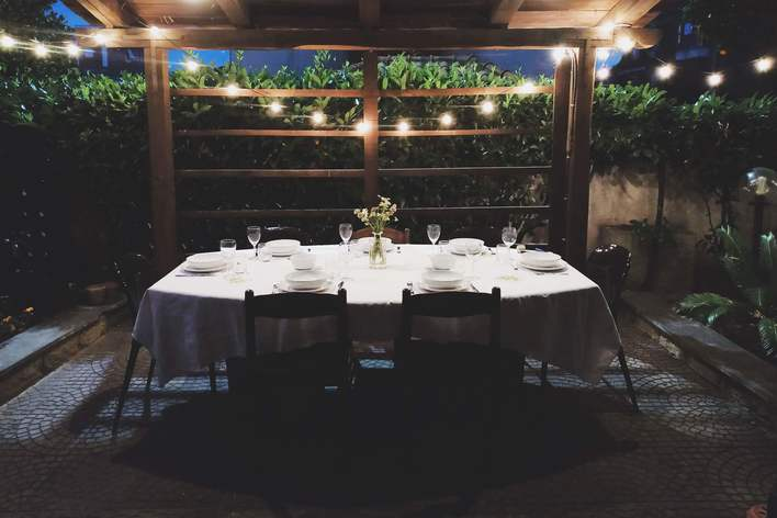 Silk garden supper club