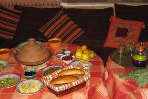 Eat with locals: Repas traditionnel marocain