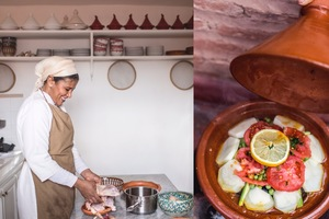 Eat with locals: Moroccan cooking experience