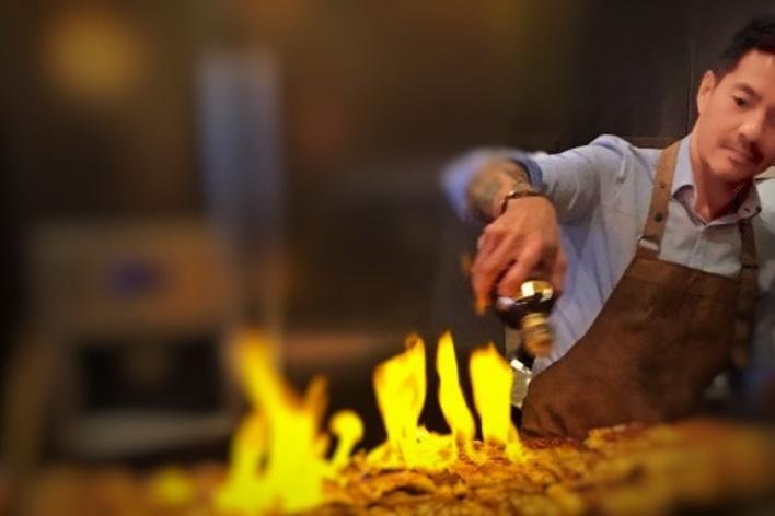 Cours de cuisine avec un gagnant de masterchef / cooking class with a ...