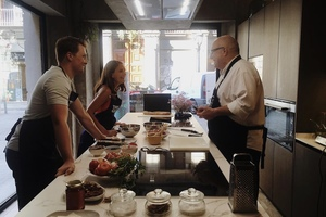 Eat with locals: Private hands-on cooking class with a local grandma