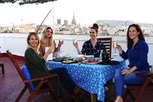 Manger chez l'habitant: Barcelona rooftop taster and tour!