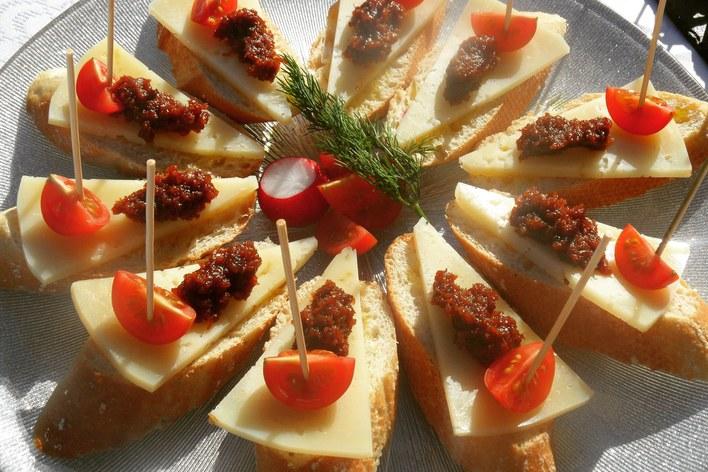 Spanish tapas selection