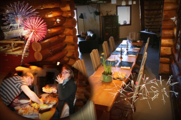 Independence day - hamburger 100% bio local