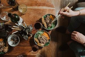 Eat with locals: Atelier de cuisine asiatique chez anne
