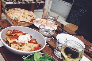 Cenas particulares como en su propia casa: Viva italia