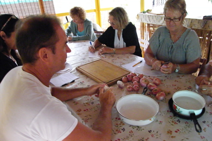 Private island cooking class with locals