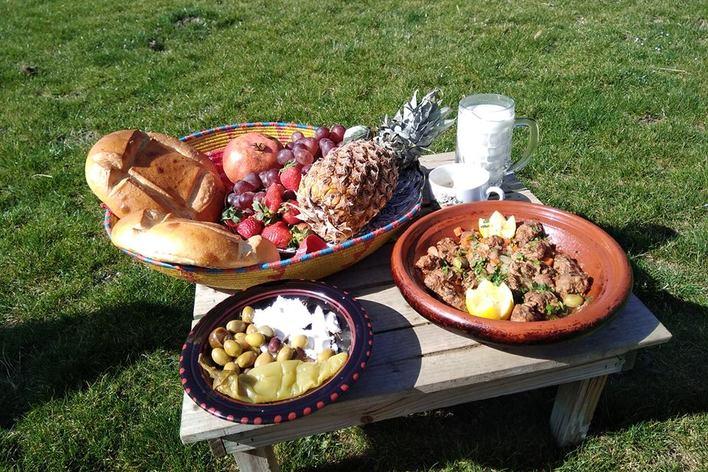 Repas mediterranéen