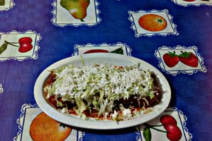Eat with locals: Mexican flautas