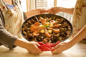 Cenas particulares como en su propia casa: Best spanish cooking class & boqueria market tour ❀ eco-friendly & local