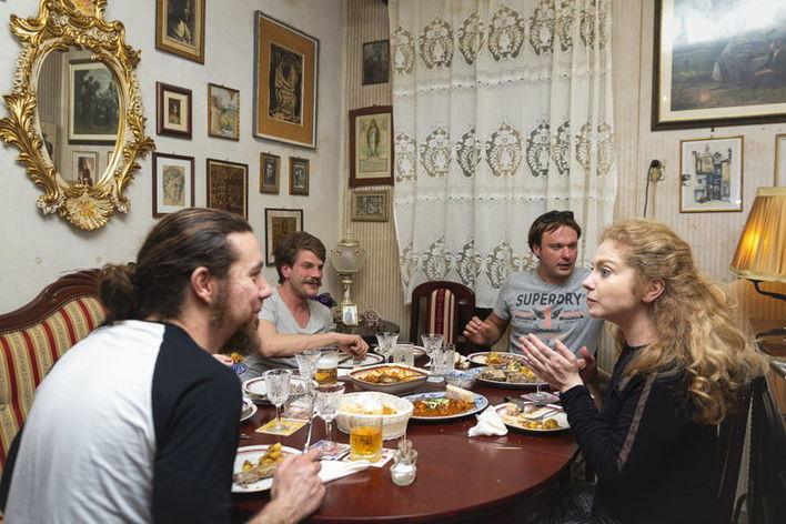 Albertina family dinner
