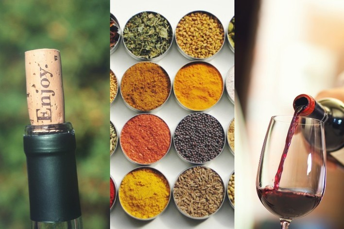 Arômes, épices, et vins naturels. spices, exotism and natural wines in ...