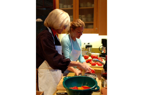 Totally tomatoes cooking class