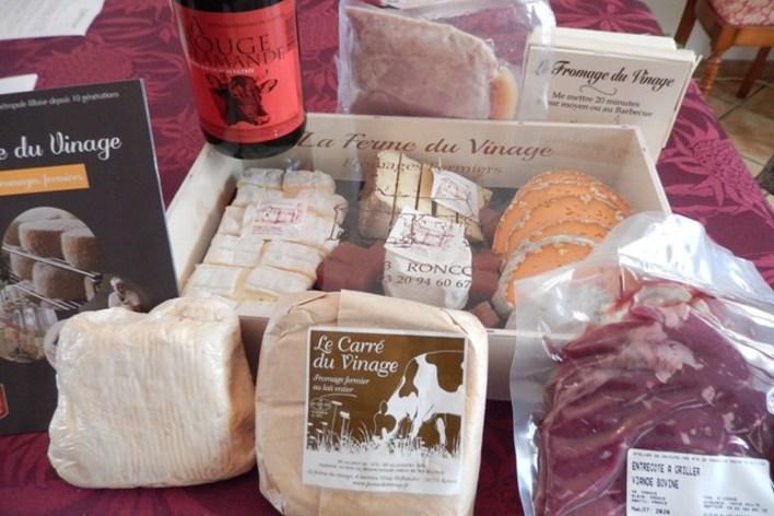 Soirée charcuteries et fromages