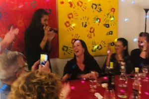 Manger chez l'habitant: Singind and eating in rome