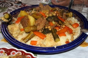 Eat with locals: Couscous kabyle