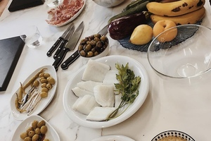 Eat with locals: Private market shopping &  hands-on cooking class with a local grandma