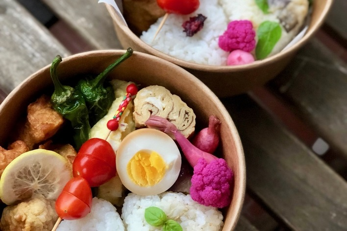 Japanese bento cooking lesson