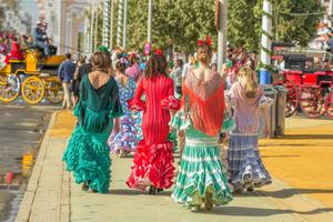 Cenas particulares como en su propia casa: Welcome to the seville fair