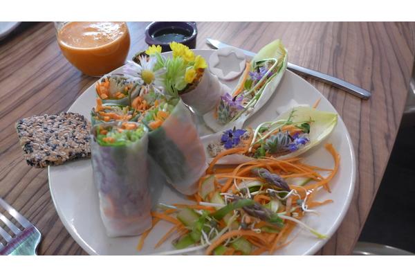 Cuisine vivante (vegan, sans gluten)