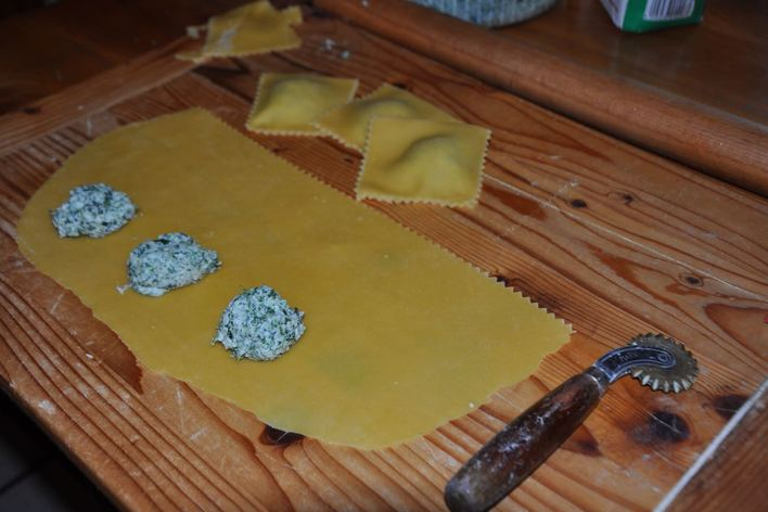 Ravioli from romagna with love
