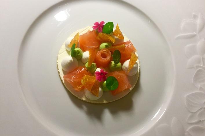 Repas gastronomique plein de saveurs / french fine food diner