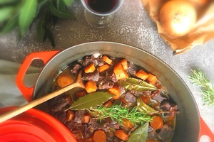 Eat with locals: Bourguignon beef with .. a burgundy man