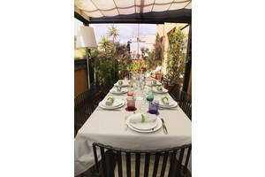 Eat with locals: Dining in a roman terrace sea food menu