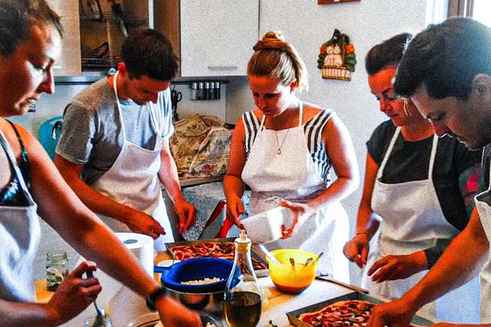 The traditional verona cooking class