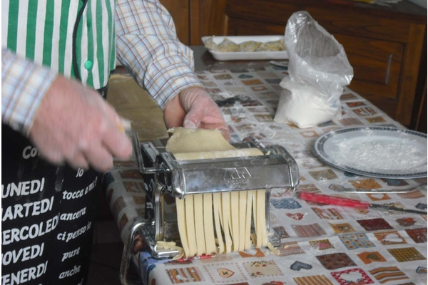 The best of tuscan cuisine in a cooking class !