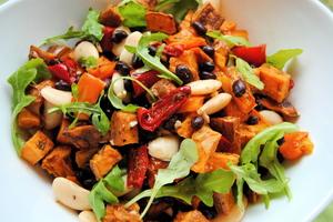 Manger chez l'habitant: Healthy brazilian backyard dinner