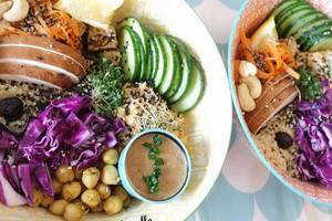Eat with locals: Repas surprise avec produits bio et frais: vegan et sans gluten