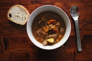 Cenas particulares como en su propia casa: Traditionally hungarian