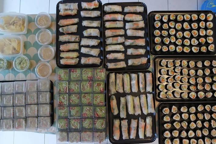 Apéro dinatoire surprise: vegan et sans gluten