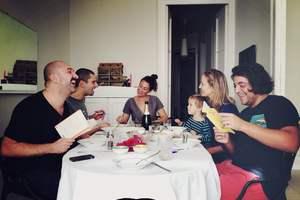Cenas particulares como en su propia casa: Aprender italiano cocinando italiano