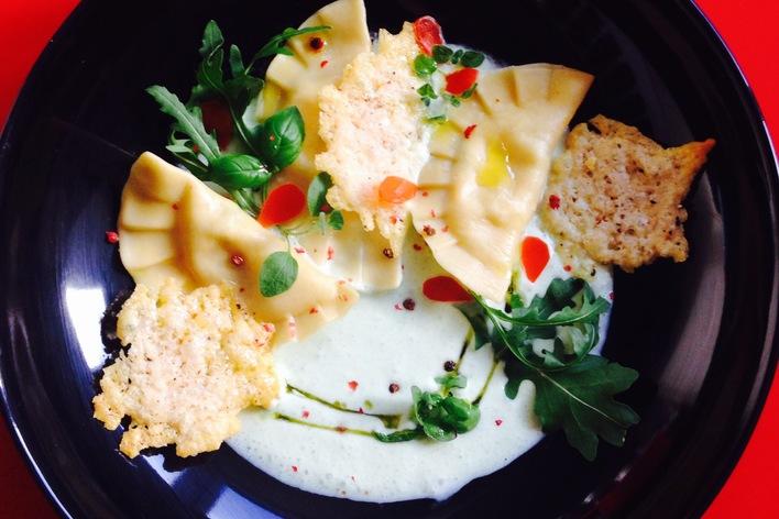 Diner gastronomique autour de l'italie