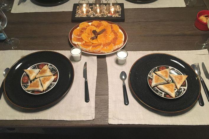 "Taste of morocco : ""fes the ancestral"" menu"