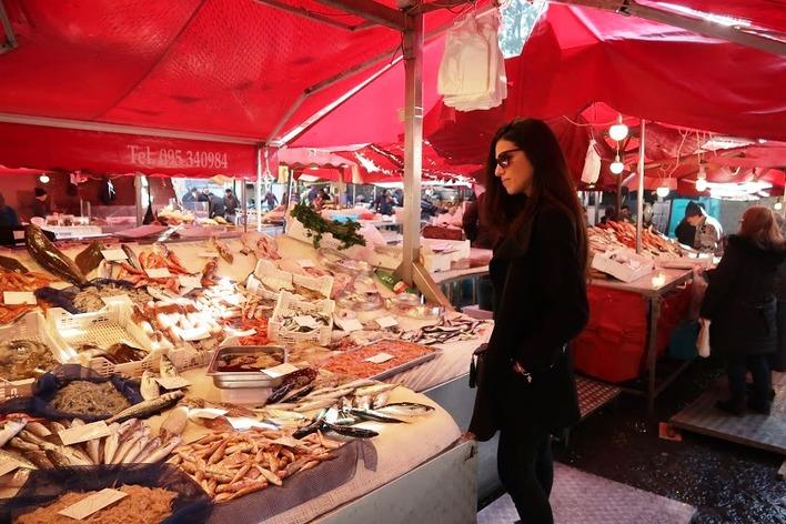Les couleurs d'un marché sicilien