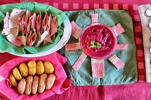 Cenas particulares como en su propia casa: Vegan vivace d'autunno