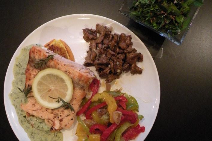 La cuisine végétarienne revisitée: copieuse, savoureuse et sophistiquée