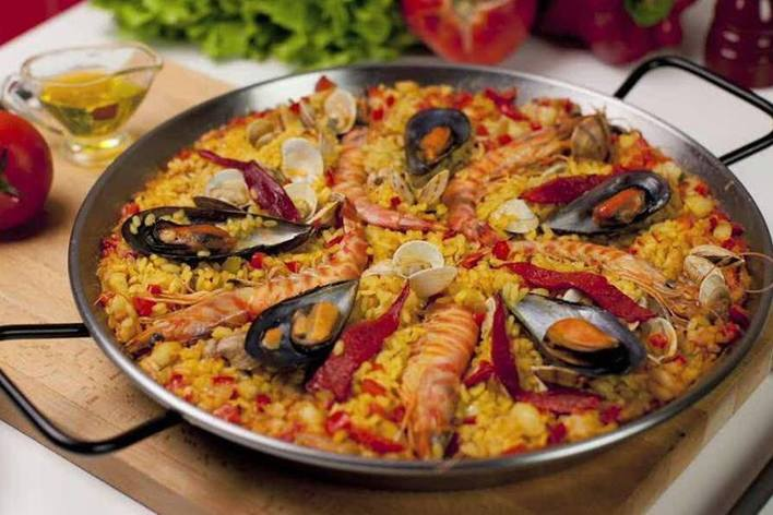 Paella & sangria  cooking workshop