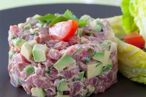 Cenas particulares como en su propia casa: Menu sans cuisson (viande + légumes)