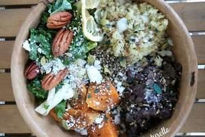 Manger chez l'habitant: Repas surprise avec produits bio et frais: vegan et sans gluten