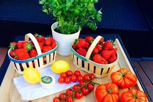 Eat with locals: Au pays de la fraise et de l'asperge