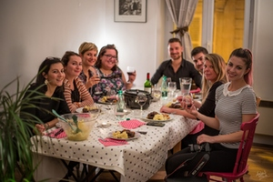 Eat with locals: Un dîner français à montmartre - french dinner in montmartre !