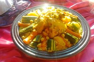 Manger chez l'habitant: Couscous marocain