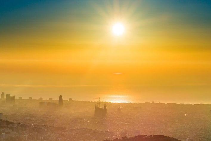 Barcelona healthy morning